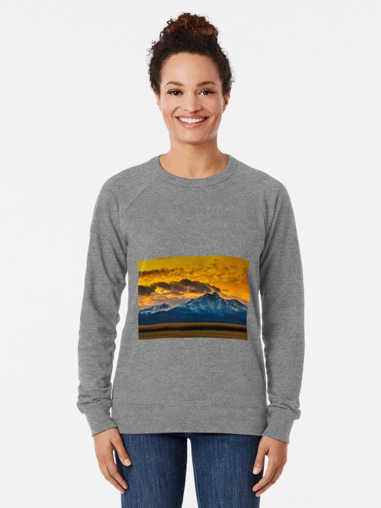 Alternate view of Locomotion Sunset Lightweight Sweatshirt