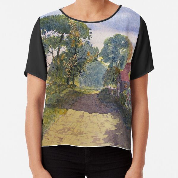 Standing in the Shadows Chiffon Top
