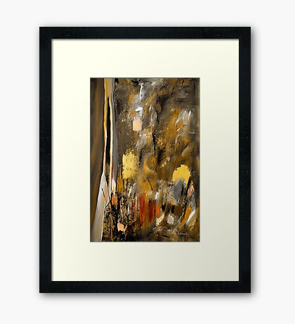 Calm Out Of Chaos II Framed Print