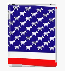 Democrat Flag iPad Case/Skin
