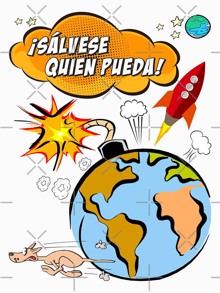 ¡Sálvese quien pueda! by TeeShow