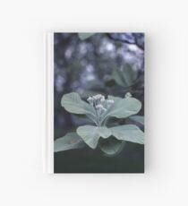 White Flower Hardcover Journal