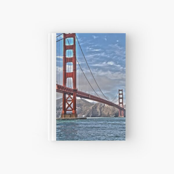 Golden Gate Bridge 1 Hardcover Journal