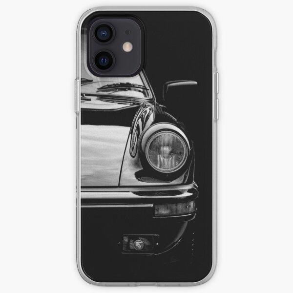 Black on Black Porsche 911 iPhone Soft Case
