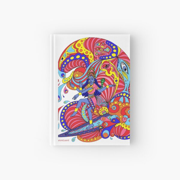 Shiva Surfing Hardcover Journal