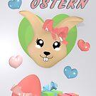 niedliches Osterdesign von Stefanie Keller