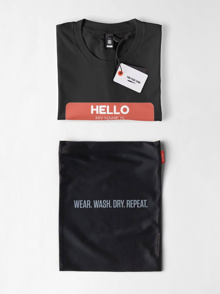 Alternative Ansicht von Opal -  Hello My Name Is Opal Funny Gift For Someone Named Opal Premium T-Shirt