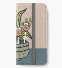 Cheeky Modern Botanical iPhone Wallet/Case/Skin
