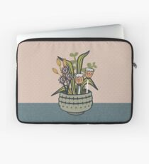Cheeky Modern Botanical Laptop Sleeve