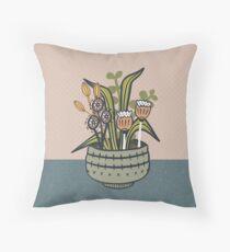 Cheeky Modern Botanical Floor Pillow