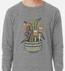 Cheeky Modern Botanical Lightweight Sweatshirt