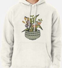 Cheeky Modern Botanical Pullover Hoodie