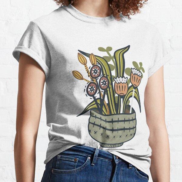 Cheeky Modern Botanical Classic T-Shirt