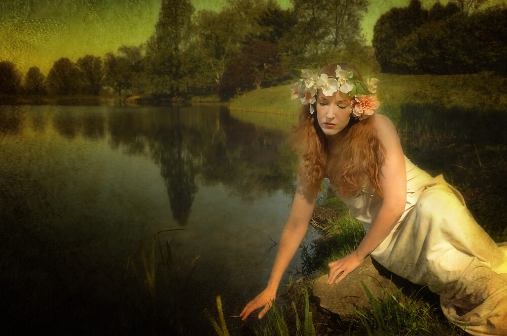 Lady of the lake by woodnimages