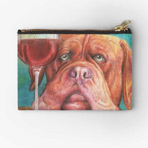 Dogue de Bordeaux Zipper Pouch