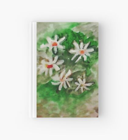 Antique Floral #1,  watercolor Hardcover Journal