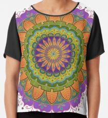 Floral Mandala - More of that Jazz Chiffon Top
