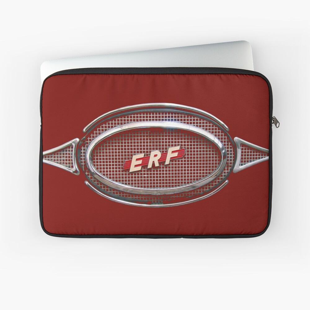 ERF vintage truck logo badge Laptop Sleeve