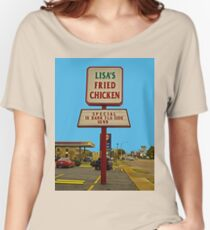 Lisa's Fried Chicken T-Shirt Women's Relaxed Fit T-Shirt