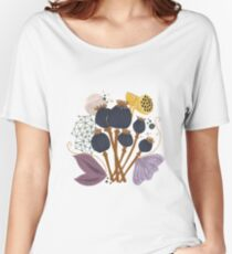 Fall Seed Pod Bouquet Relaxed Fit T-Shirt