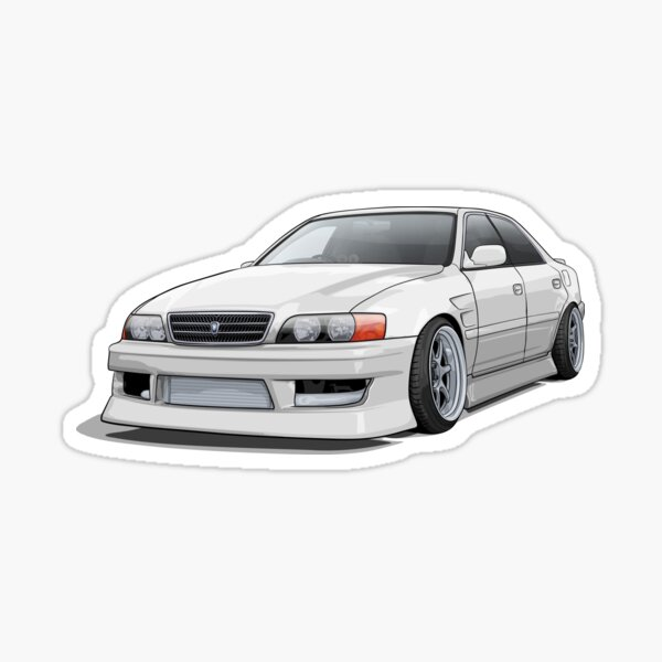 Chaser jzx100 Sticker
