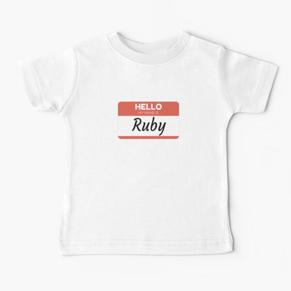 Personalized Name Toddler//Kids Short Sleeve T-Shirt Mashed Clothing Hello My Name is Angel