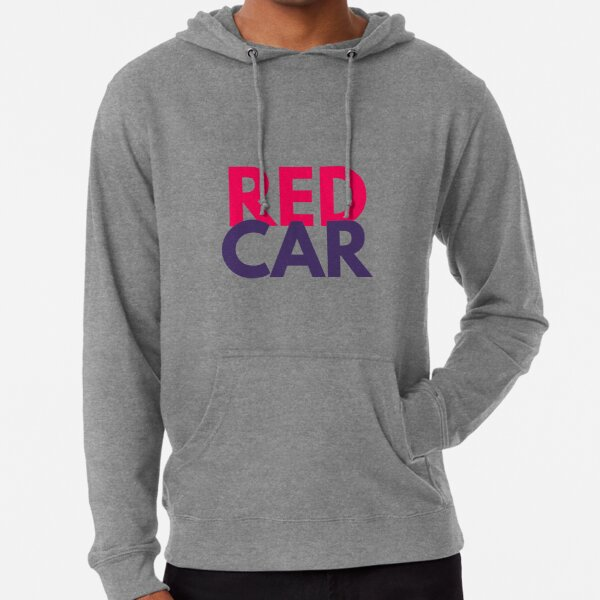 I love Redcar  Lightweight Hoodie