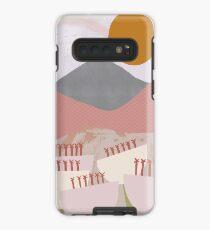 Desert Mountain Sunrise Case/Skin for Samsung Galaxy
