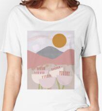 Desert Mountain Sunrise Relaxed Fit T-Shirt