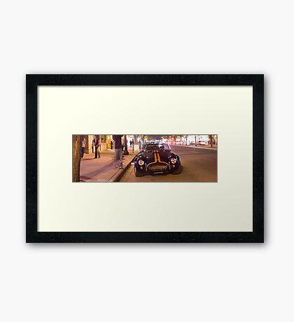 Whyte Cobra Framed Print