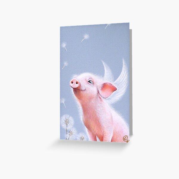 """Dandelions"" Greeting Card"