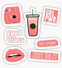 Mini Polaroid Camera Stickers Redbubble