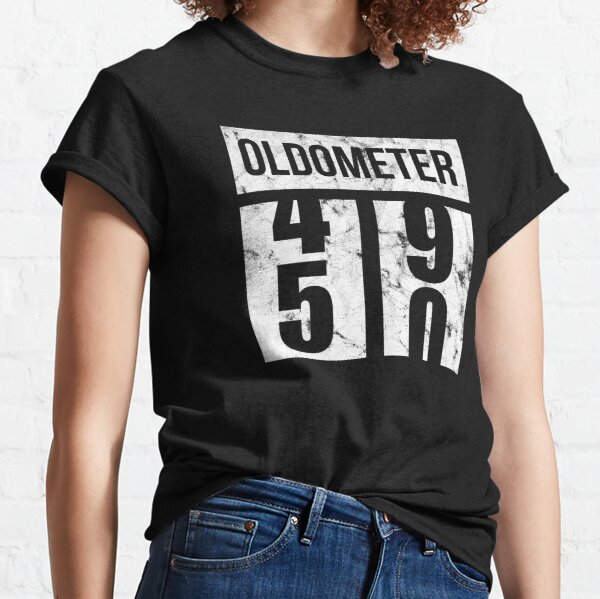 50 Oldometer 50th Birthday Gift Idea Classic T-Shirt