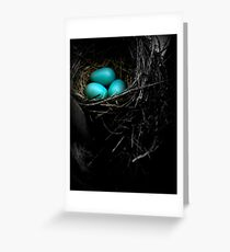 in the nest Greeting Card