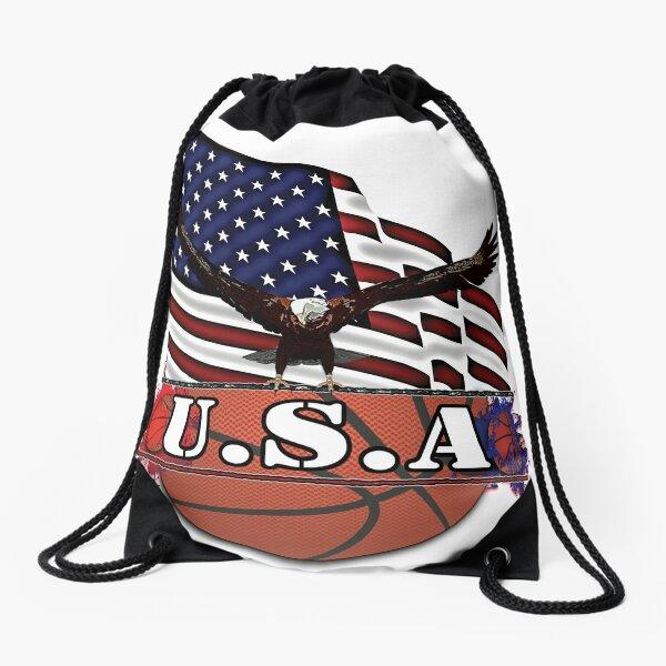 USA Basketball Drawstring Bag