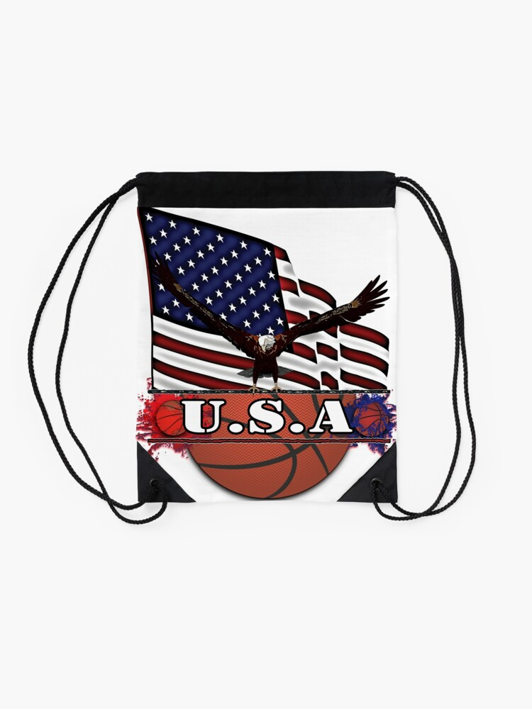 Alternate view of USA Basketball Drawstring Bag