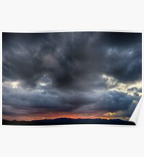 Steroid Clouds Poster