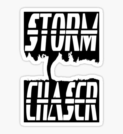 Storm Chaser Inverted Sticker