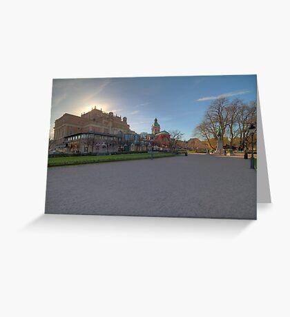 King's Garden Greeting Card