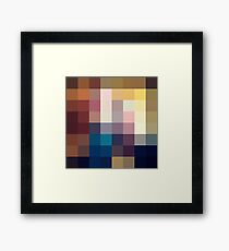 Nature Pixels No 3 Framed Print