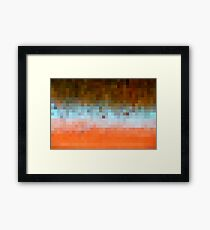 Nature Pixels No 1 Framed Print