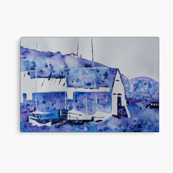 Memories of the old boatshed Canvas Print