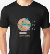 Terraforming Mars - 16 Bit Mars Terraformed - Board Game - Tabletop Gaming Slim Fit T-Shirt