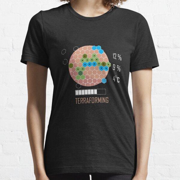 Terraforming Mars - 16 Bit Mars Terraformed - Board Game - Tabletop Gaming Essential T-Shirt