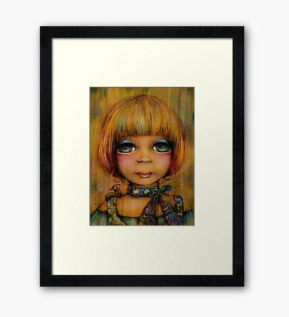Lady Sunshine Framed Print