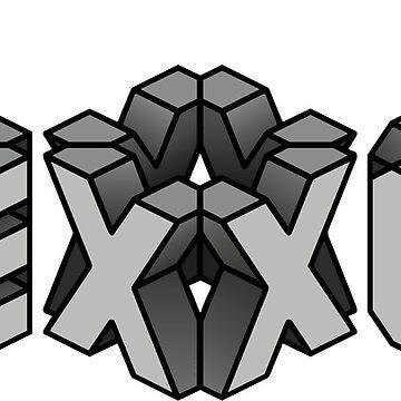 EXO 3D - GRIS de Duckiechan