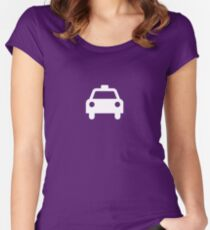 Taxi Women's Fitted Scoop T-Shirt