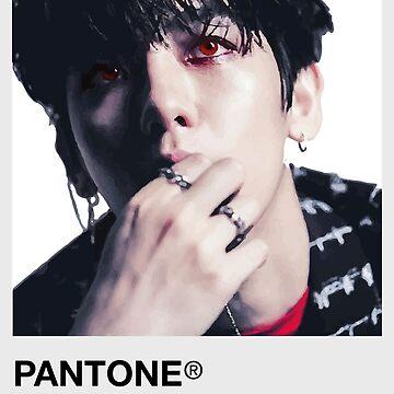 Red Baekhyun - Pantone de Duckiechan