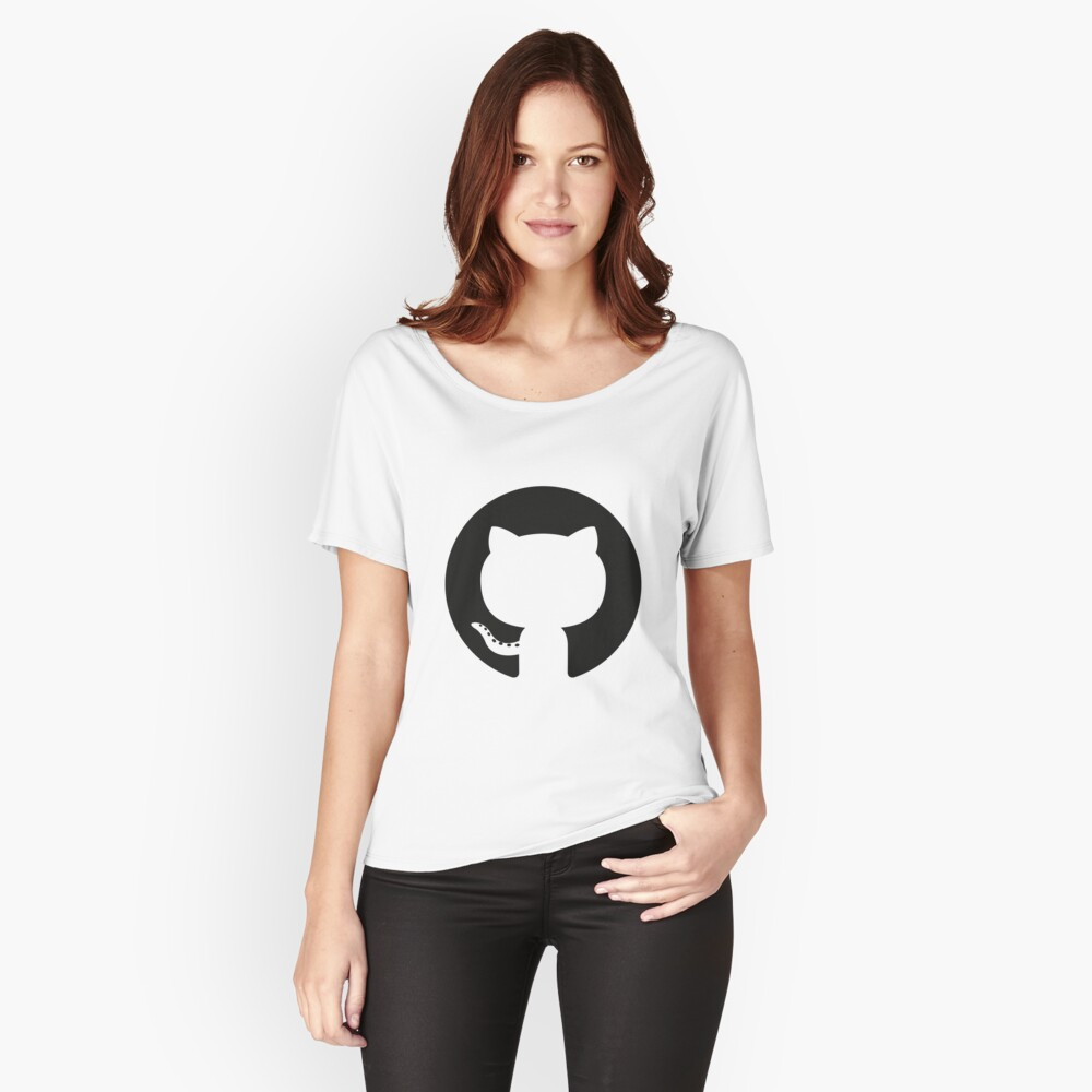 ★ github Women's Relaxed Fit T-Shirt Front