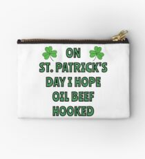 What I want on St. Patrick's Day Studio Pouch